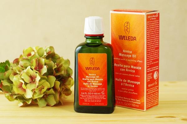 ヴェレダ アルニカマッサージオイルは肩こりや腰痛のマッサージに愛用中です!