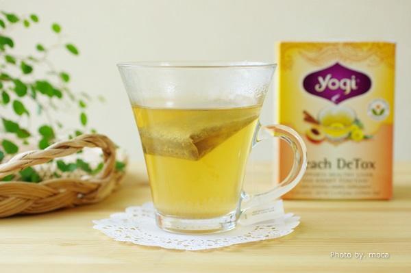 こ、、、これは買って失敗だった(汗)  Yogi Tea(ヨギティー)Peach Detox