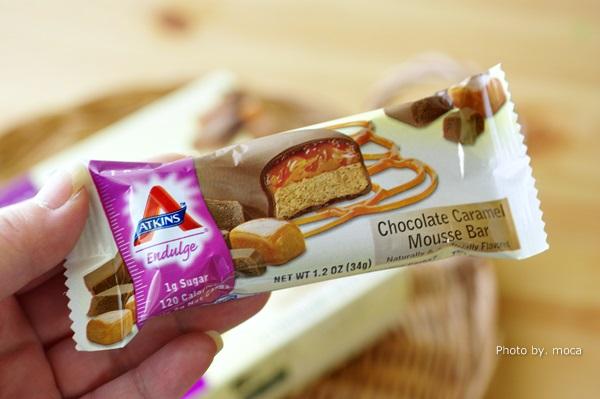 甘いものが食べたいときにいいんです♪ ATKINSチョコレートキャラメルムースバー