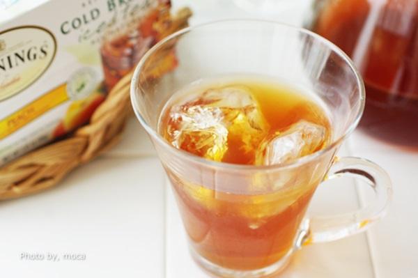 ピーチティ好きさんにオススメ!Twinings Cold Brewed Iced Tea, Peach, 20 Tea Bags