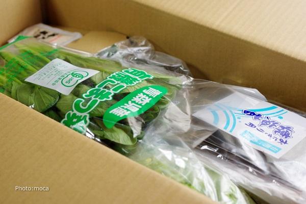大地を守る会の「有機野菜8点お試しセット」2000円相当が980円でお試しできます♪