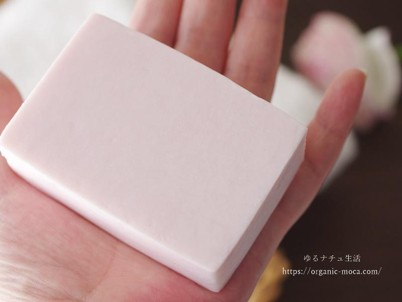 スプーンスプーン国産オーガニックハーブ&ローズ美肌洗顔石けんの使用感