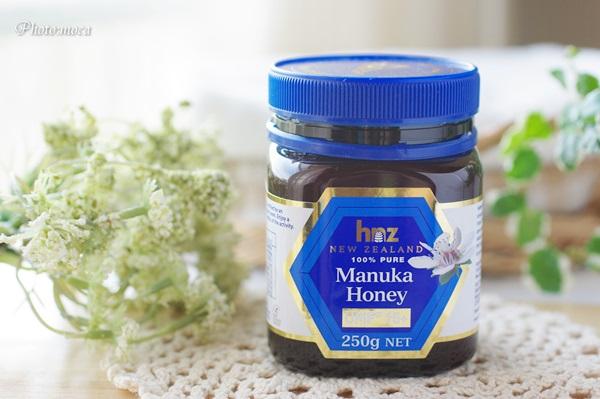 ニュージーランド産マヌカハニー アクティブ15+ 花粉時期の喉のイガイガにも重宝してます