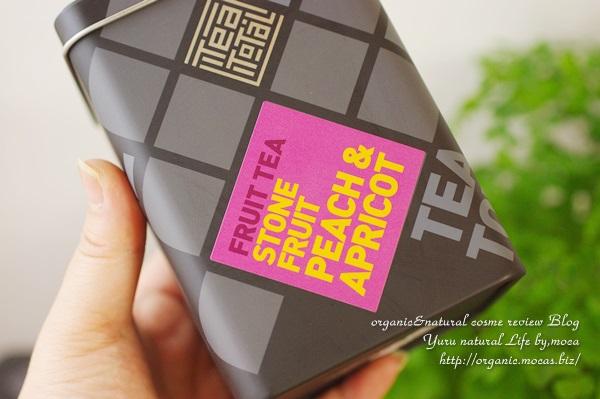 Tea total / フルーツティー / ピーチ&アプリコット/缶入り タイプ