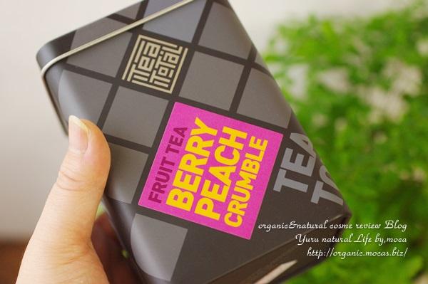 Tea total / フルーツティー / ベリー ピーチ クランブル/缶入り タイプ