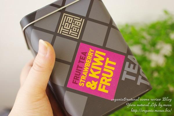 Tea total / フルーツティー / ストロベリー & キウイ/缶入り タイプ