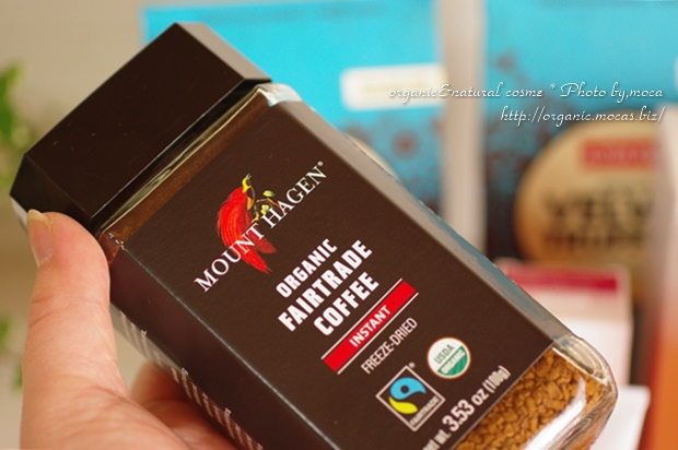 Mount Hagen, マウントハーゲン, Organic-Cafe, Freeze Dried Instant Coffee, 3.53 oz (100 g)