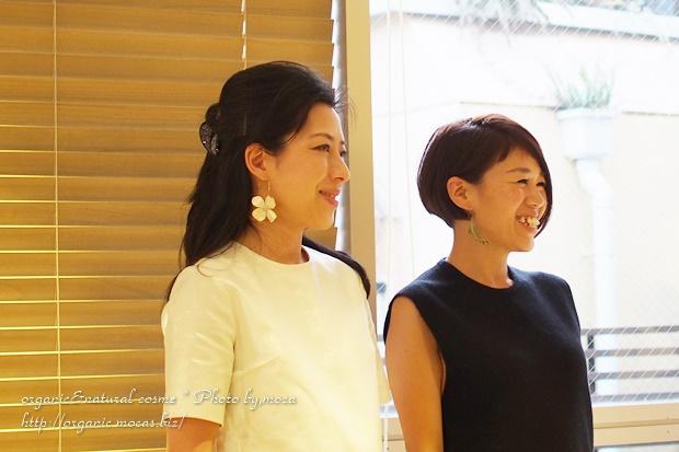 早坂香須子さんとuruotte(うるおって)笹川社長のトークショー