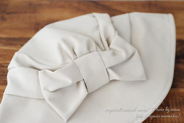 ベルメゾンでUVカット帽子「遮熱つば広UVリボンハット」を購入