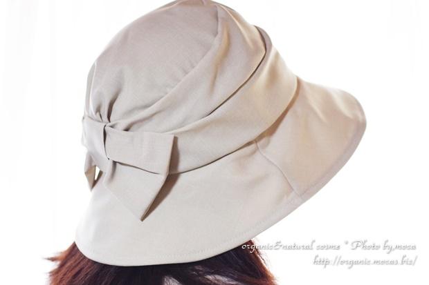 ベルメゾンでUVカット帽子「遮熱つば広UVリボンハット」を購入しました