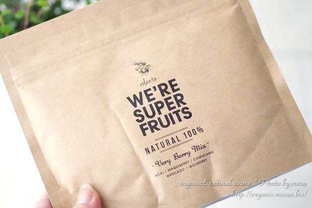 天然由来成分100%ウィーアースーパーフルーツ