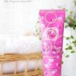 ラウリル硫酸ナトリウム不使用、オーガニックダマスクバラ水を使用したバラの香りの歯磨き粉