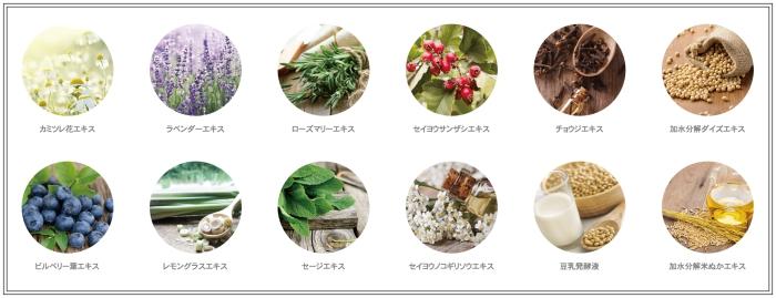 12種類の厳選されたオーガニック(JBコンプレックス(整肌保湿))