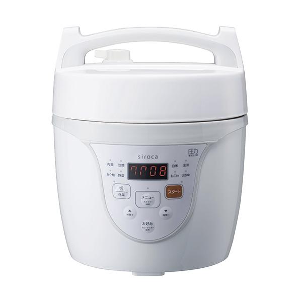 siroca(シロカ)電気圧力鍋 クックマイスターについて